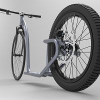 Moto Cycles Trottinette Adulte