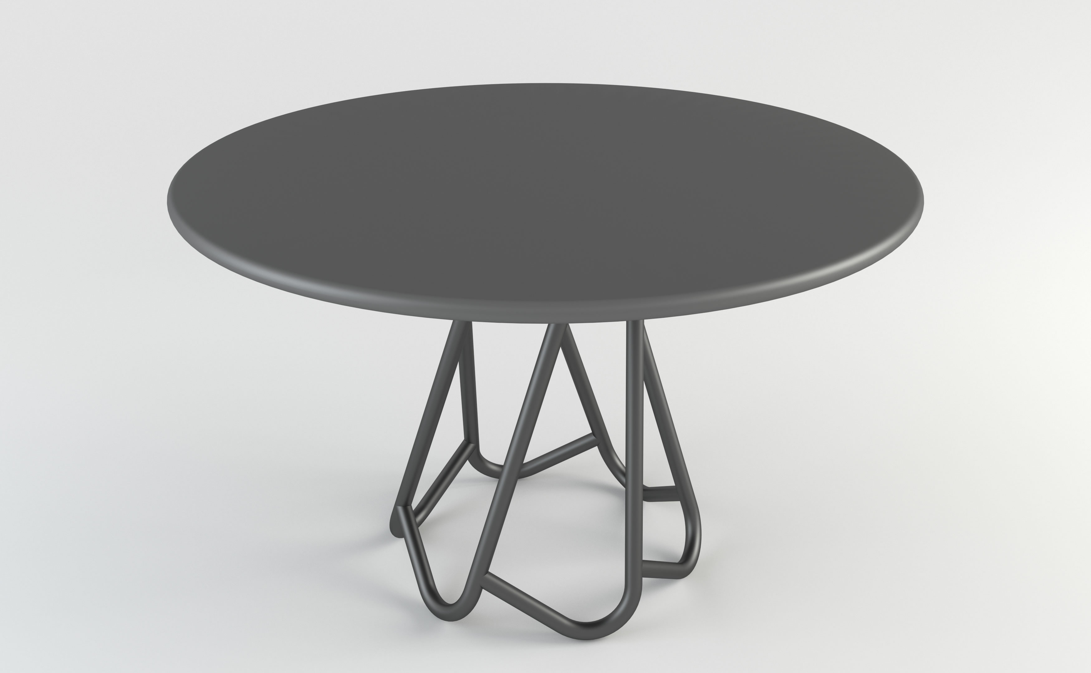 Mobilier Table Pietement Tube